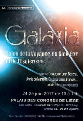 Salon de la voyance, du bien être et de l'ésotérie Galaxia Liège
